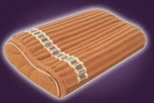 Amethyst Memory Foam Pillow with Tourmaline